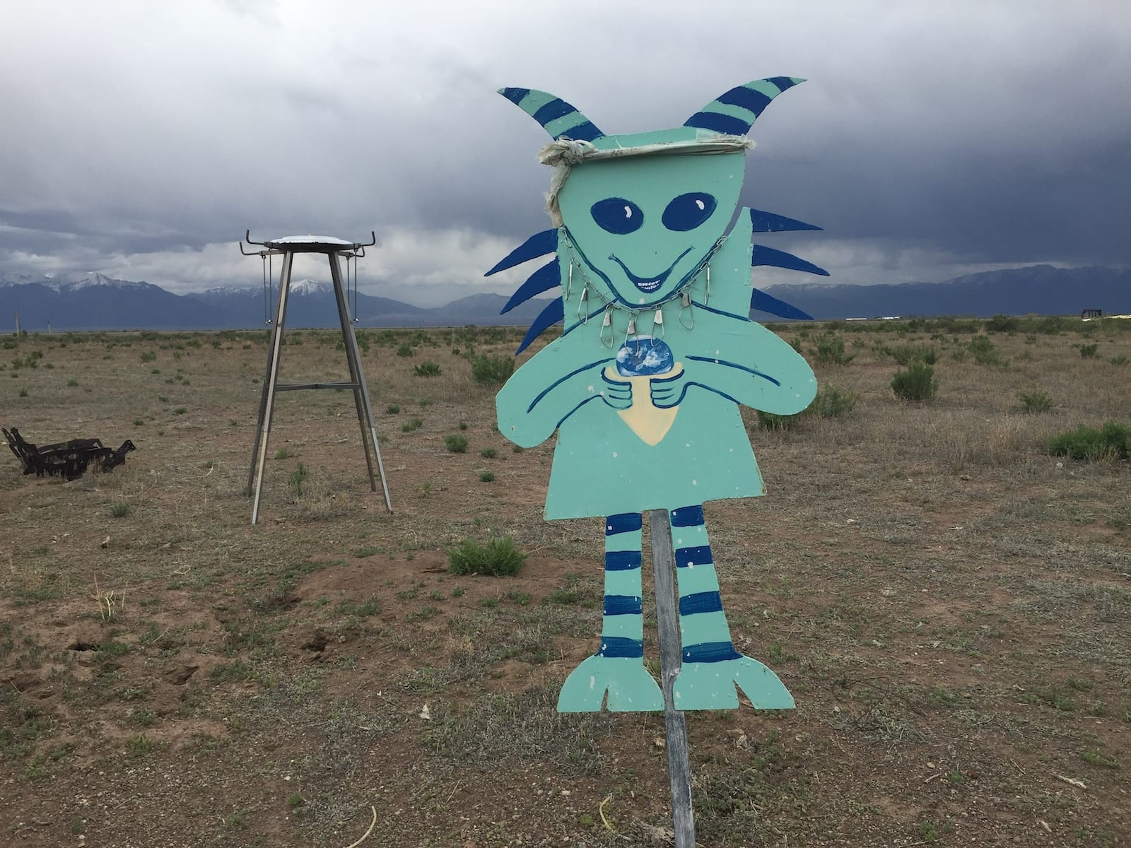 UFO Watchtower Center Colorado