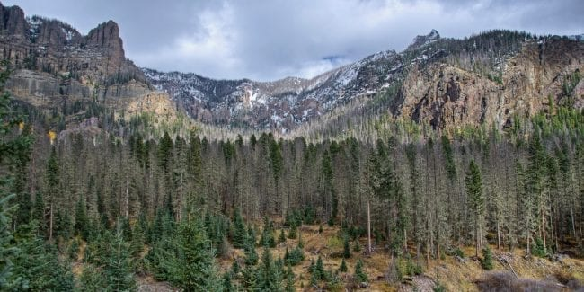 Weminuche Wilderness Colorado