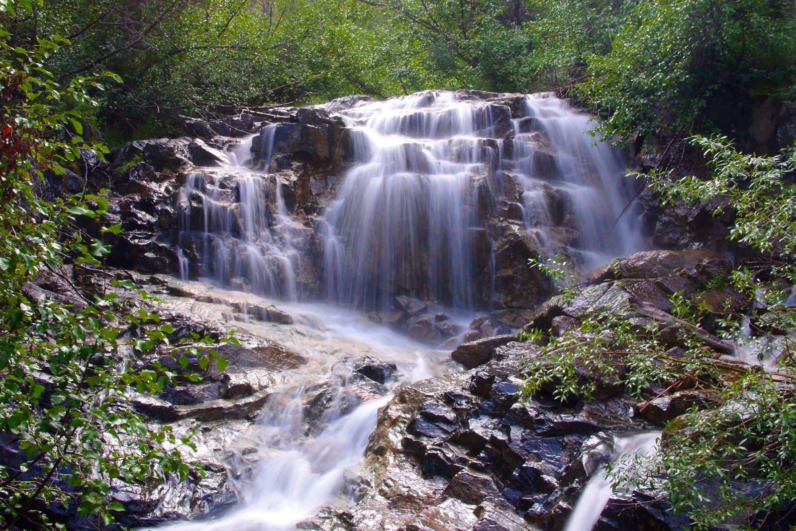 Weminuche Wilderness Chicago Basin Waterfall