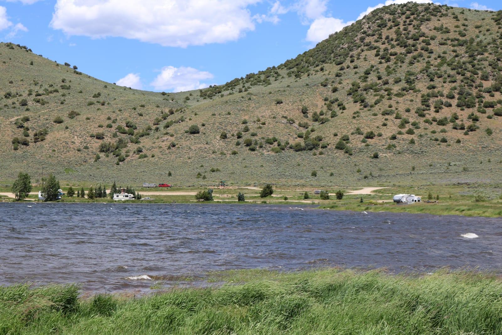 Williams Fork Reservoir Parshall Colorado East Boat Ramp