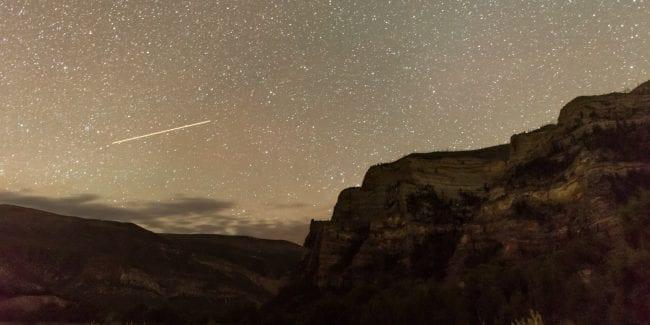 Dinosaur National Monument Dark Sky Park Stargazing Night Starts