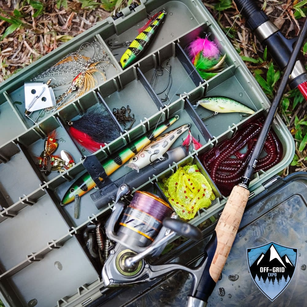 Off-Grid Expo Fishing Tackle Box