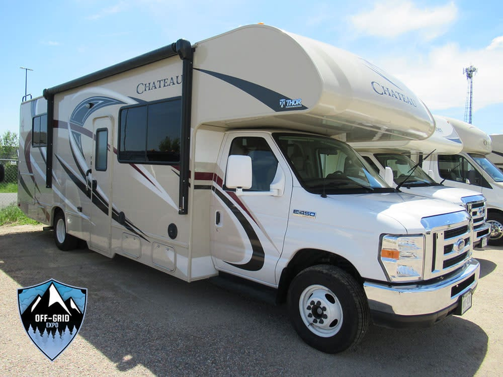 Off-Grid Expo RV Pop Out