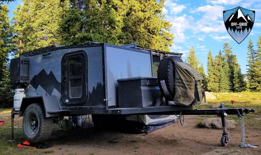 Off-Grid Expo Travel Trailer
