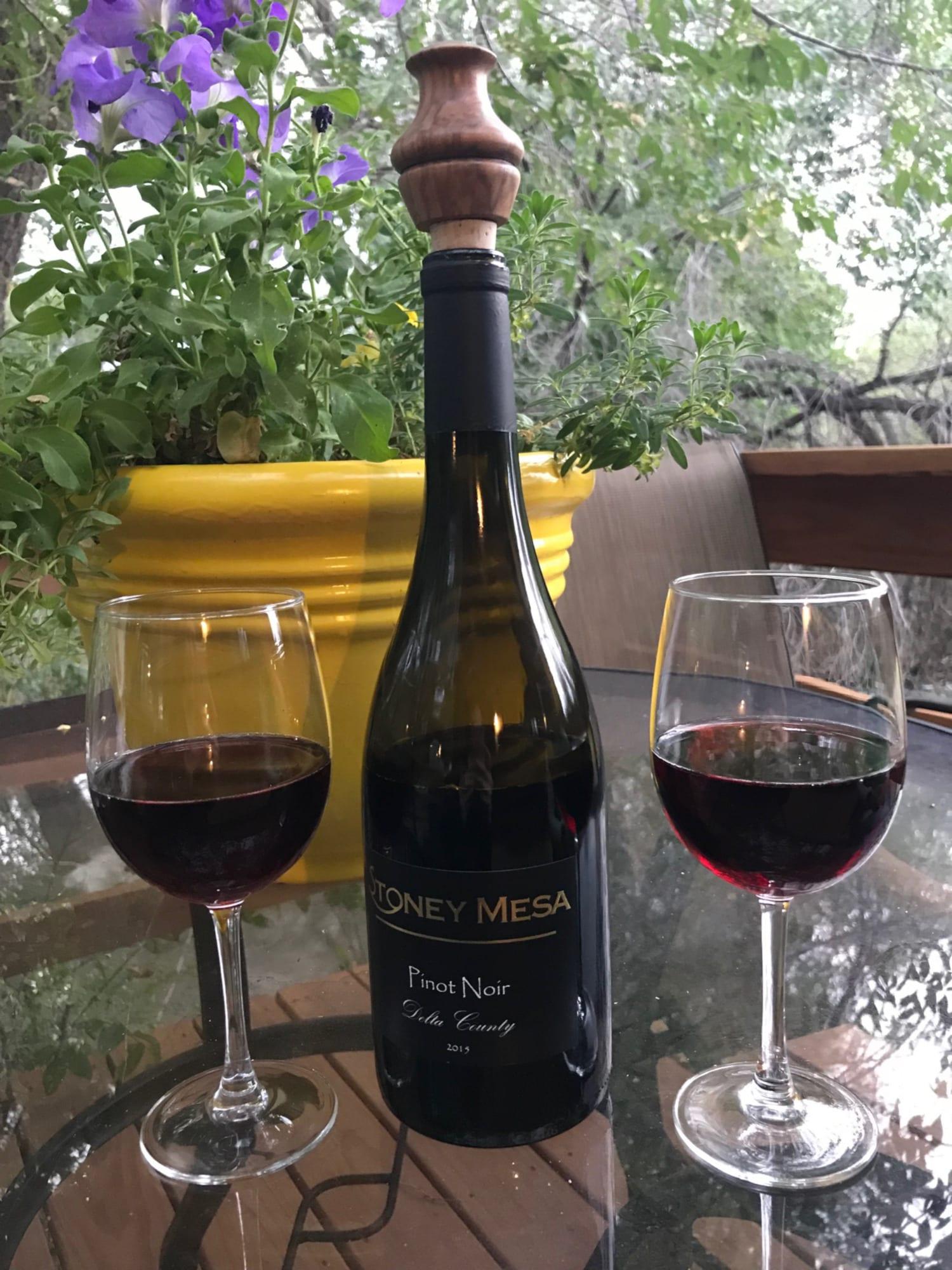 Stoney Mesa Winery Bottle of Pinot Noir