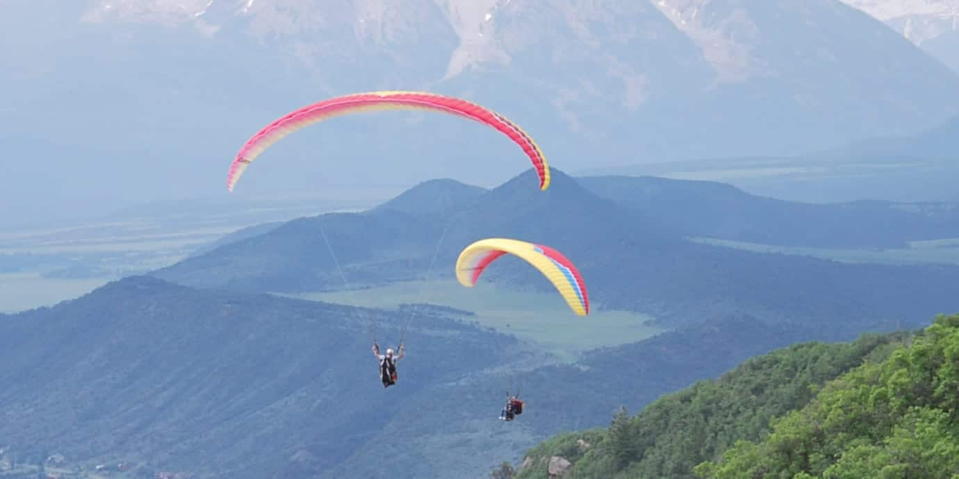 Adventure Paragliding Glenwood Springs Mount Sopris Carbondale