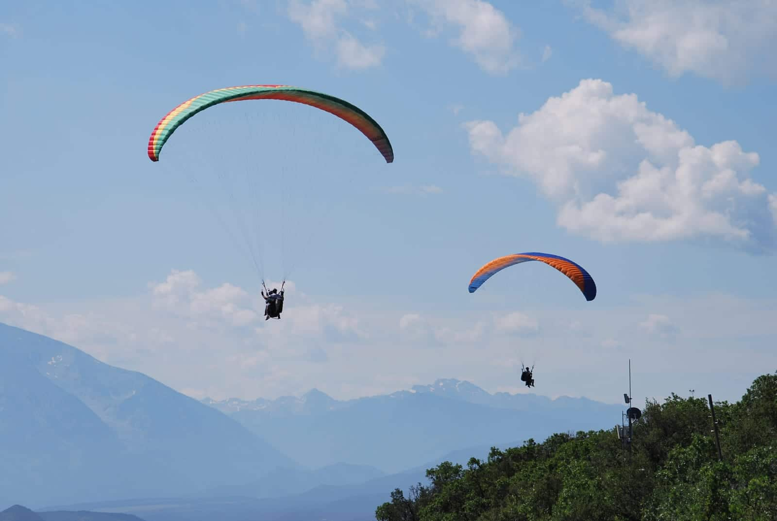Adventure Paragliding Colorado Paragliders