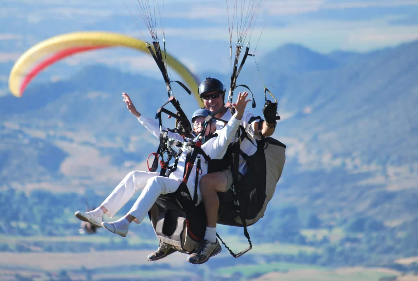 Adventure Paragliding Tandem Flight Colorado