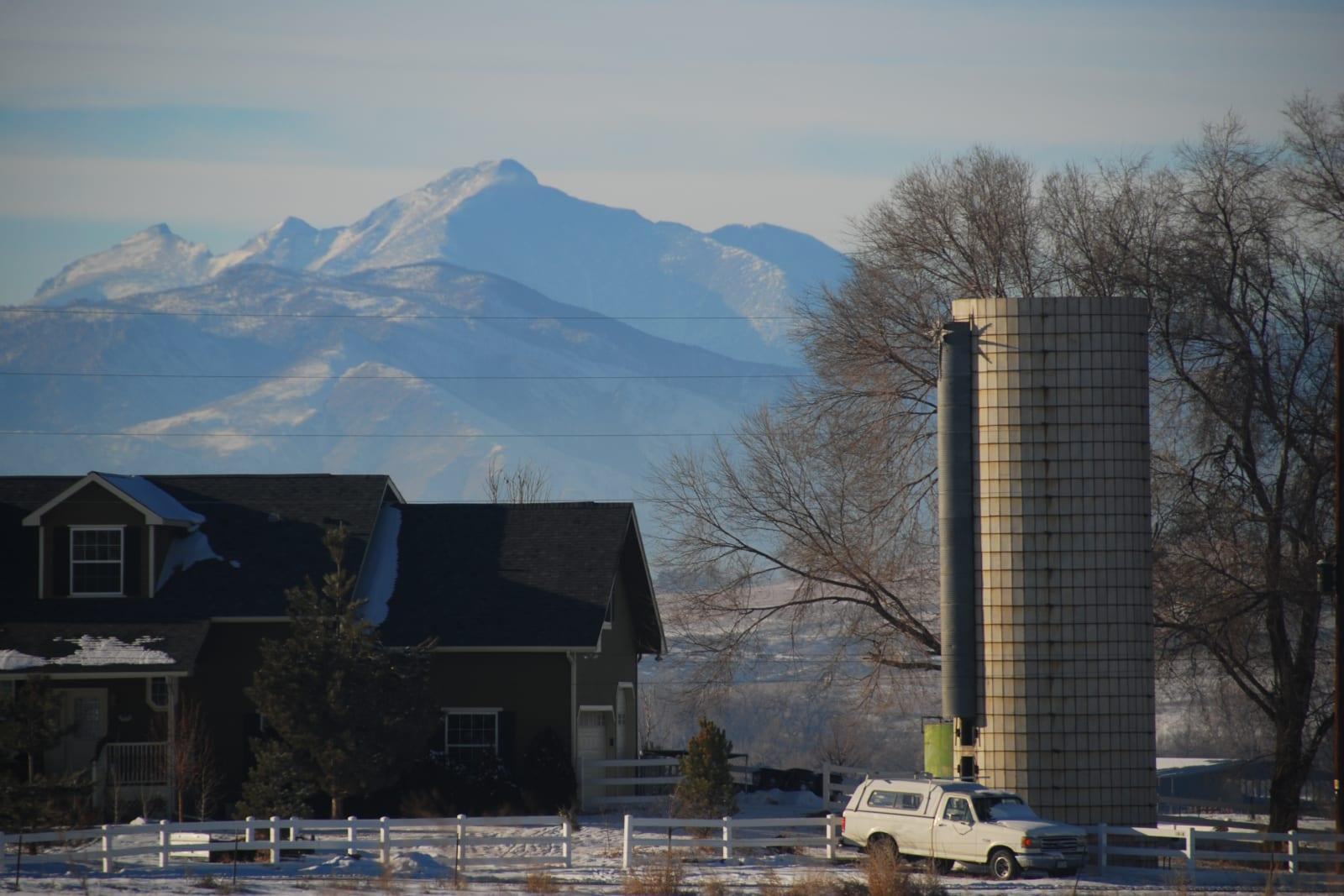 Berthoud Colorado Longs Peak House Farm