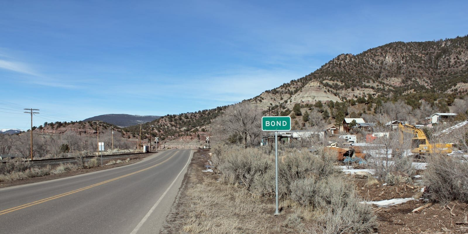 Bond Colorado Highway 131 Sign