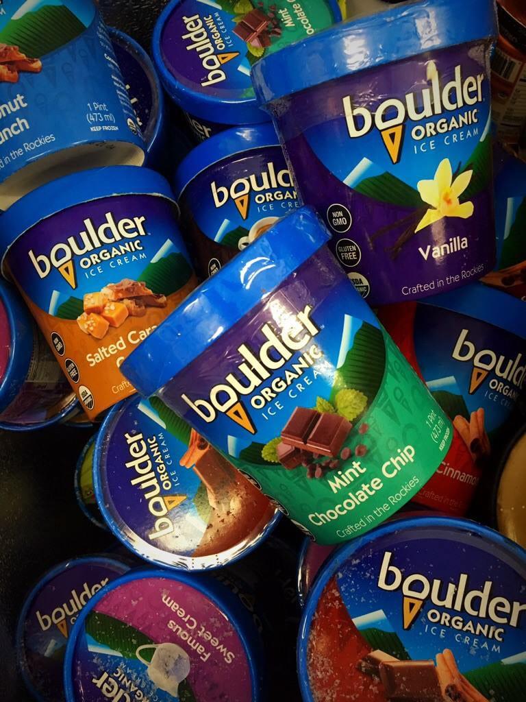 Boulder Organic Ice Cream Flavors