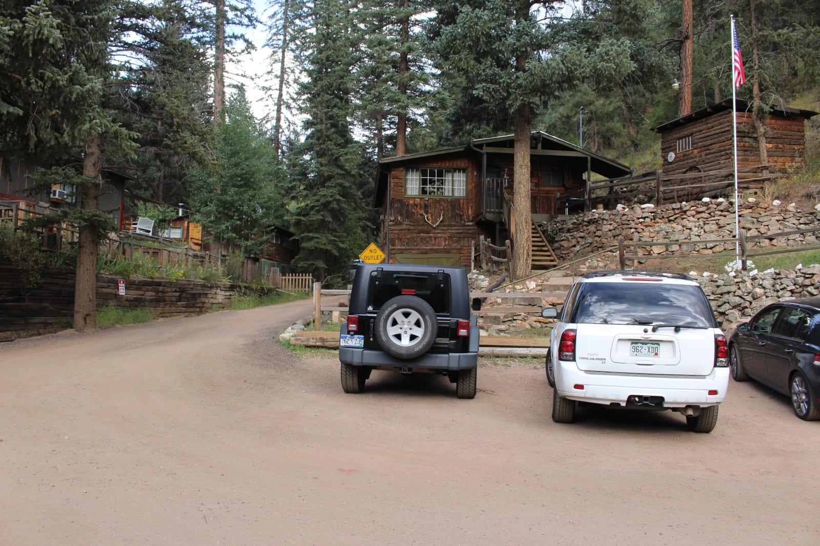 Bucksnort Saloon Sphinx Park Colorado Houses