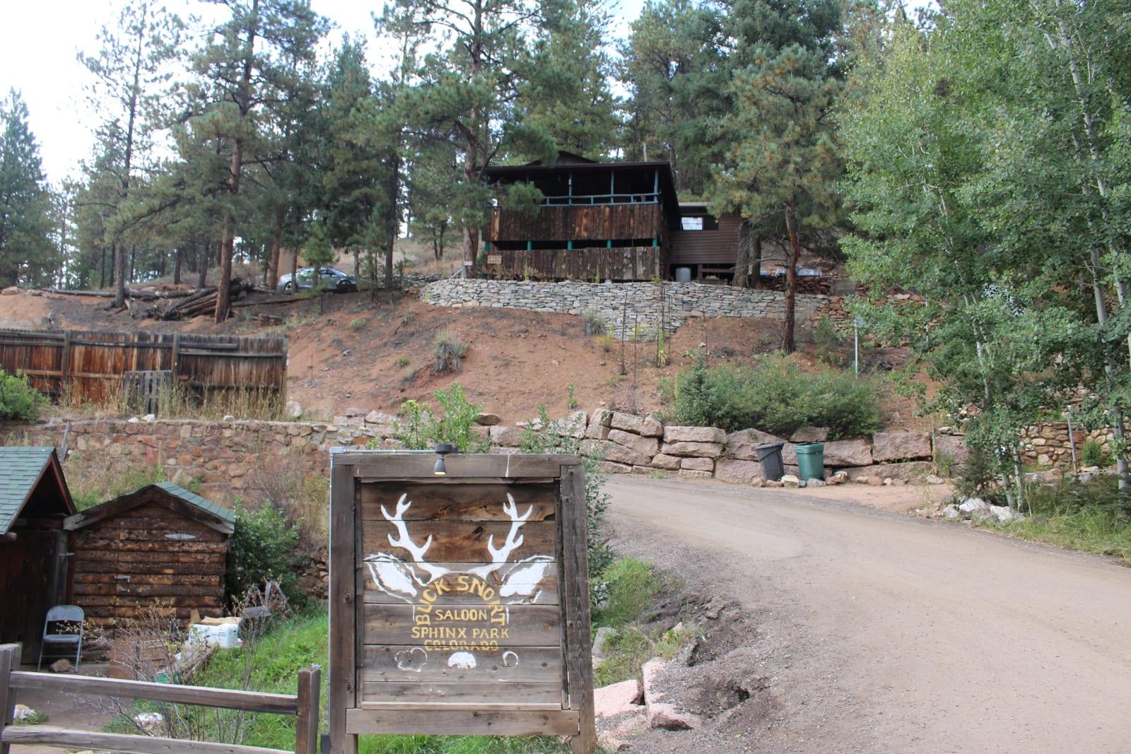 Bucksnort Saloon Sphinx Park Colorado