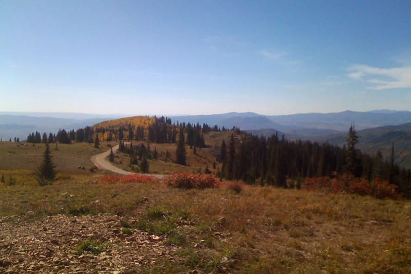 Buffalo Pass Road Summit Steamboat Springs to Walden