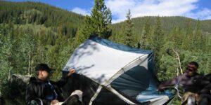 Tent Camping Kenosha Pass Colorado Bailey CO