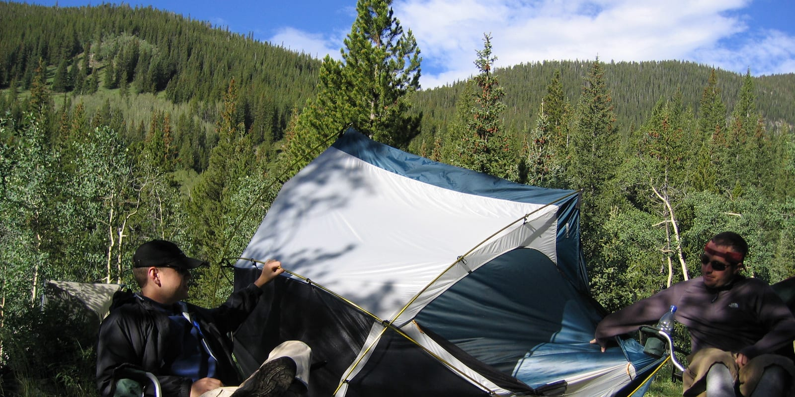 Tent Camping Kenosha Pass Colorado Bailey CO
