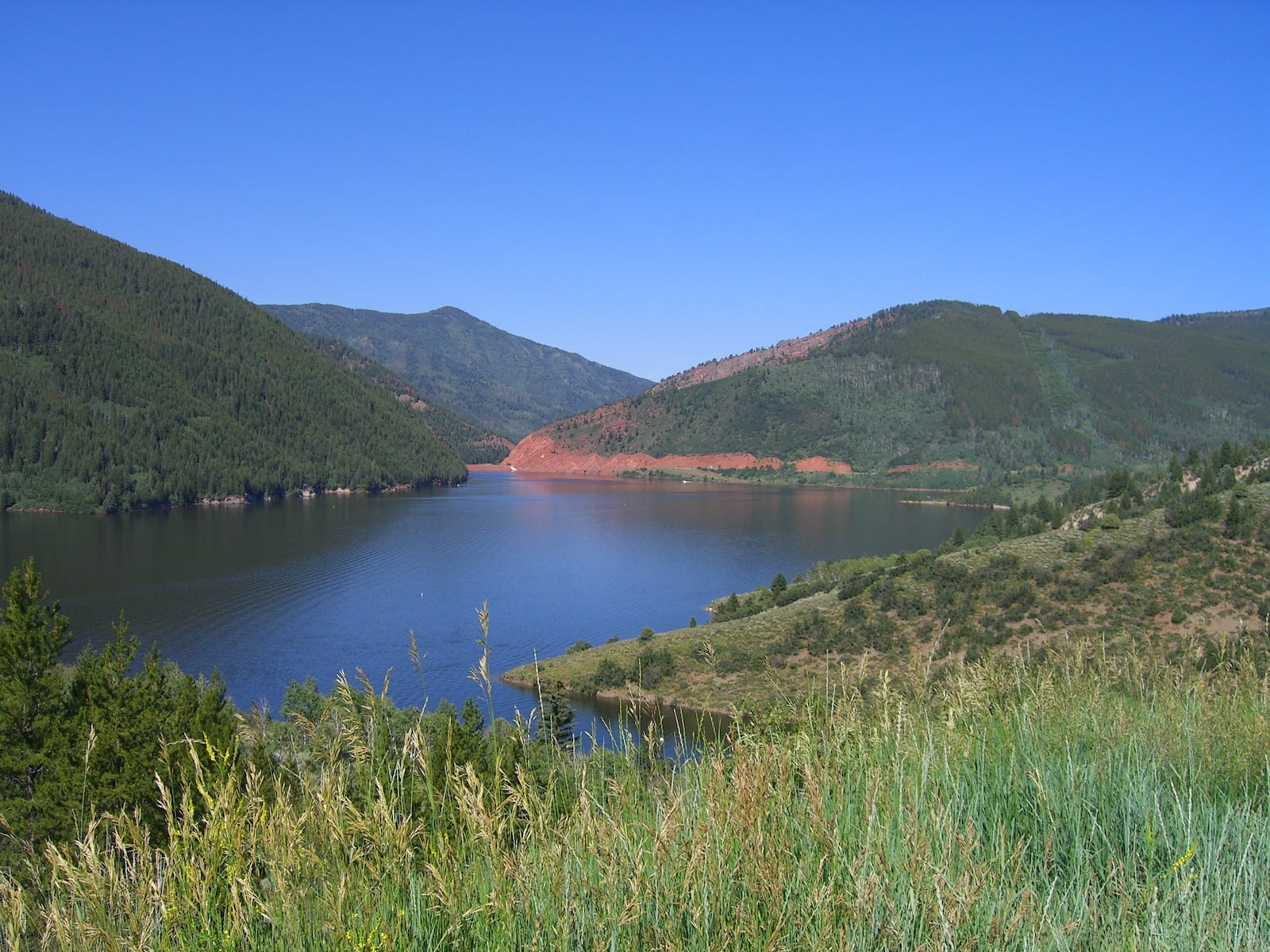 Camping near Basalt Ruedi Reservoir Colorado