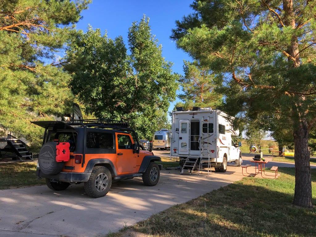 Fort Collins North/Wellington KOA Journey Colorado RV Campsite