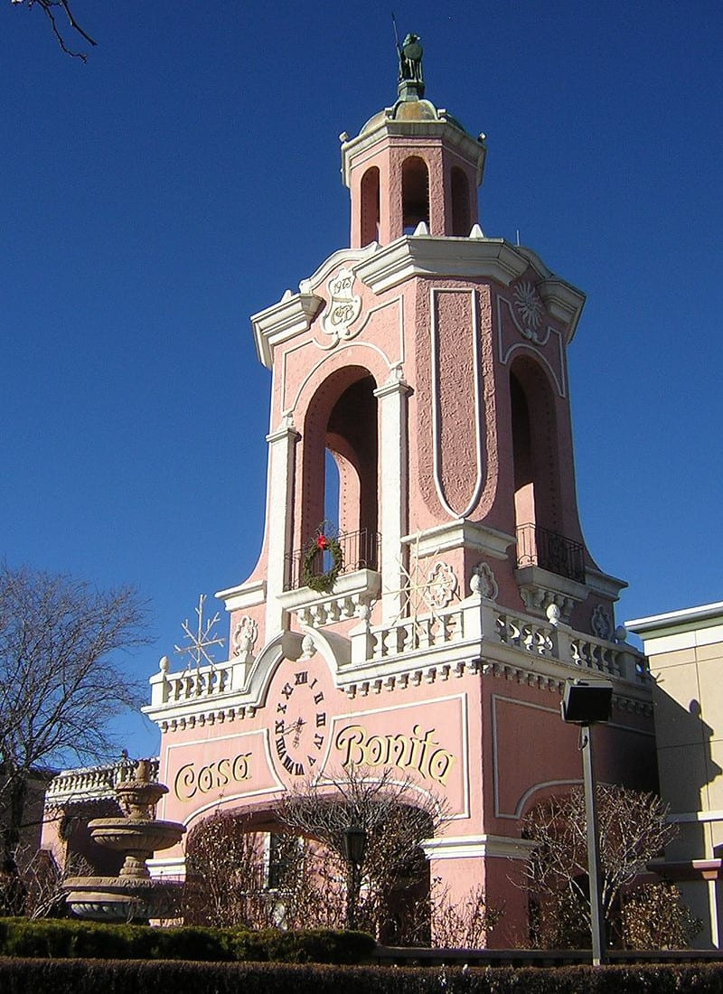 Casa Bonita Lakewood CO Exterior Tower