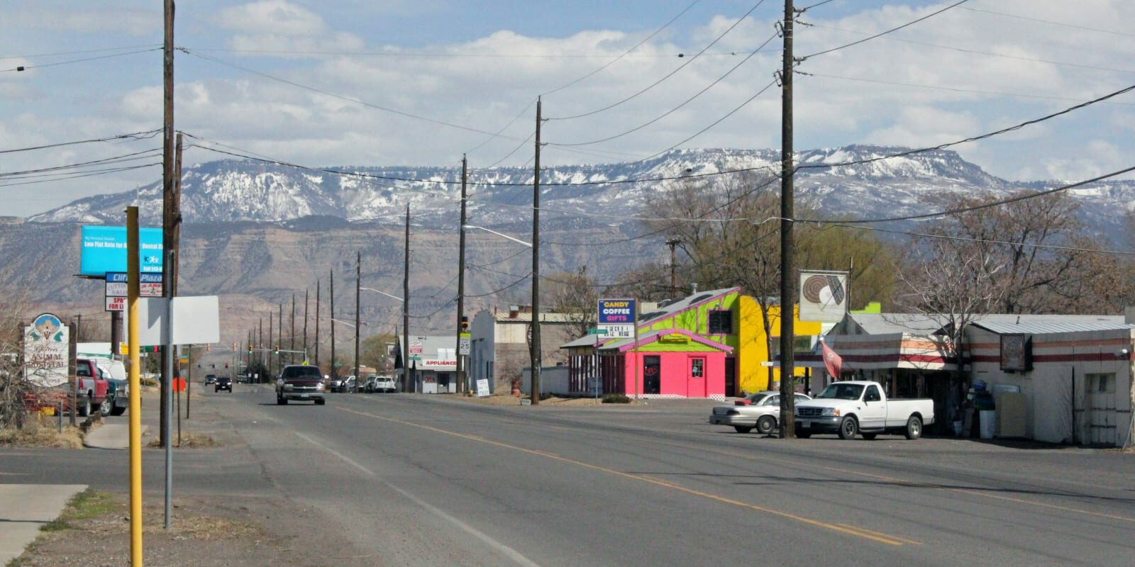 Clifton Colorado F Road US Highway 6