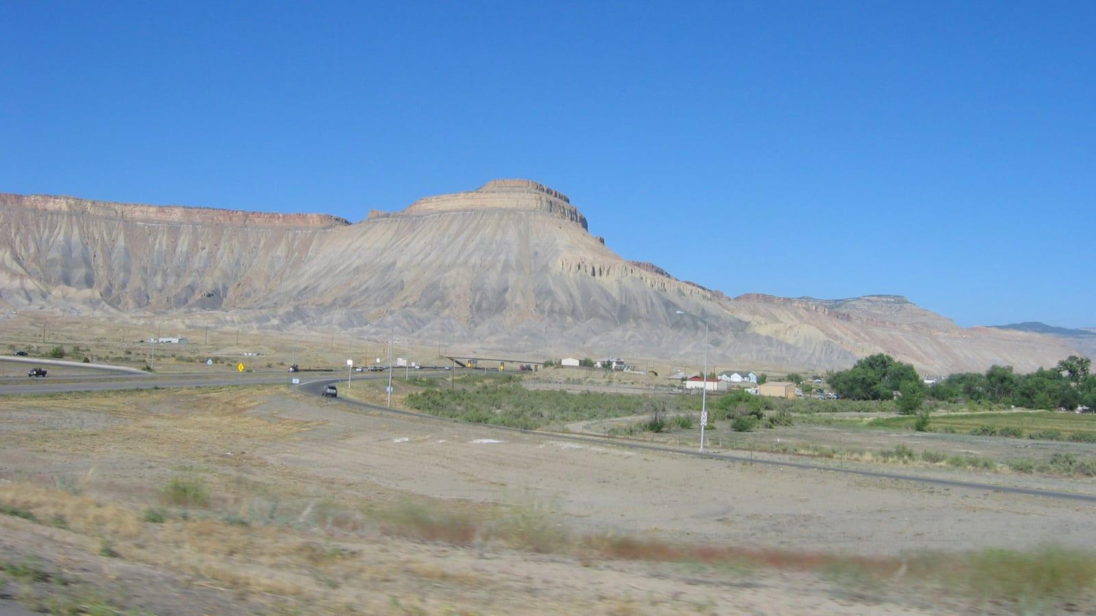 Clifton Colorado Highway Mesas
