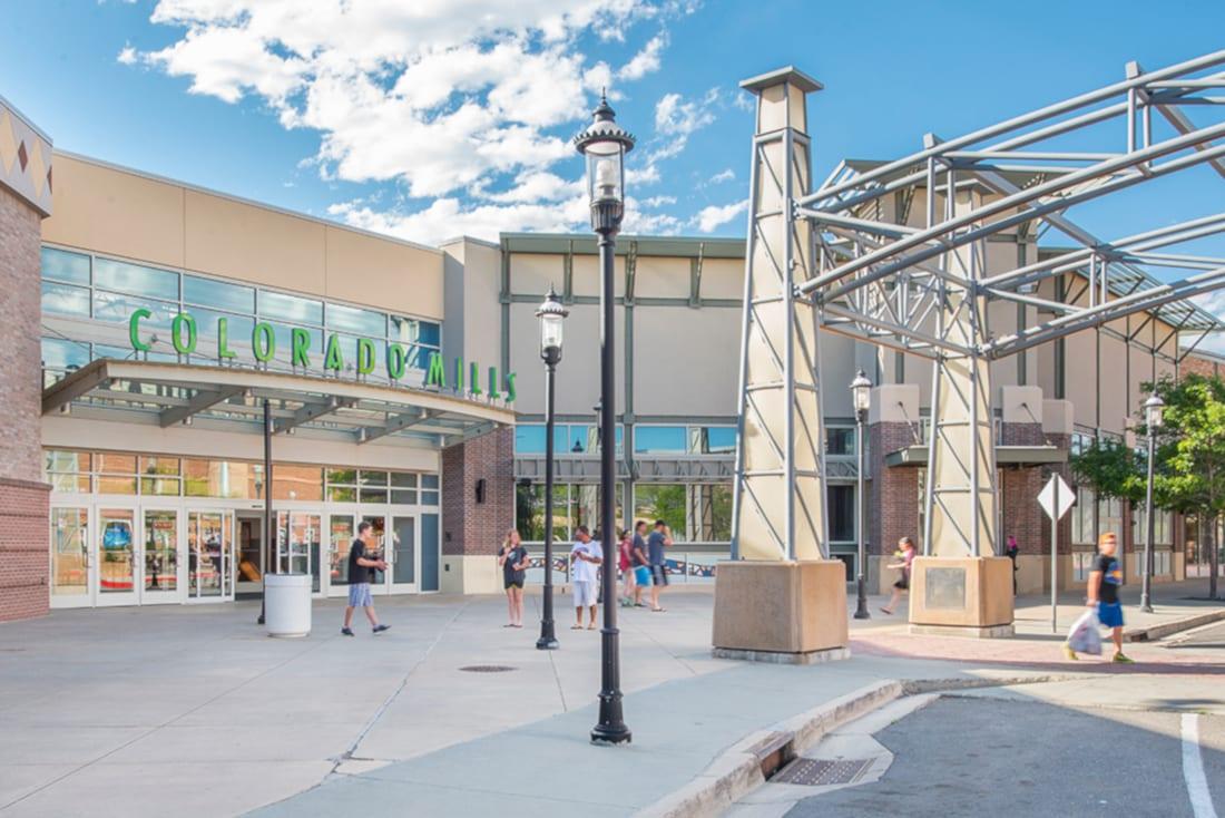 Colorado Mills Mall Lakewood Entrance
