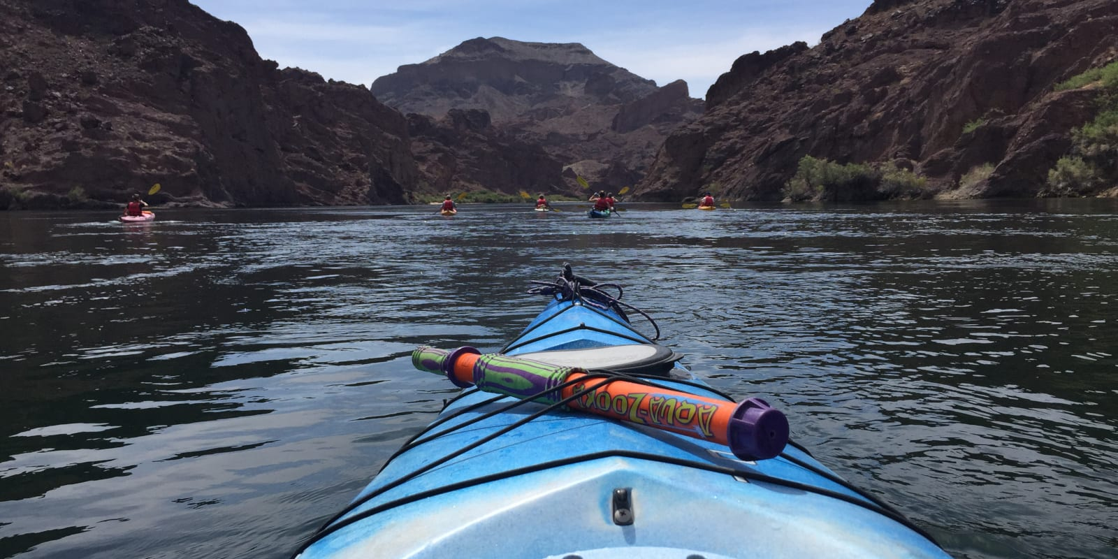 Colorado River Kayaking Nevada