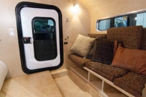 Colorado Teardrops Mount Massive Camper Interior Couch