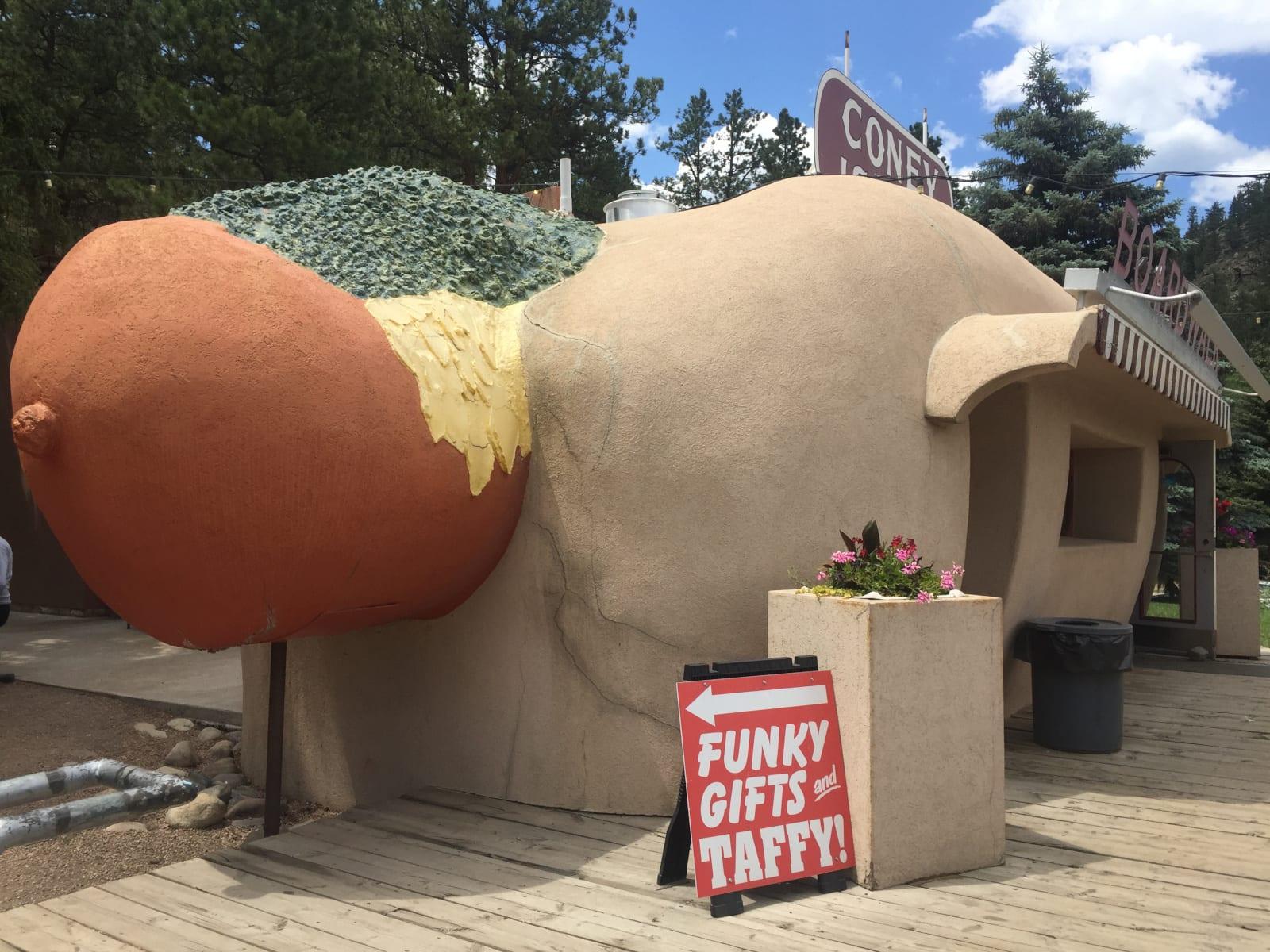 Coney Island Boardwalk Bailey Colorado Hot Dog