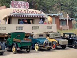 Coney Island Boardwalk Hot Dog Stand Bailey Colorado