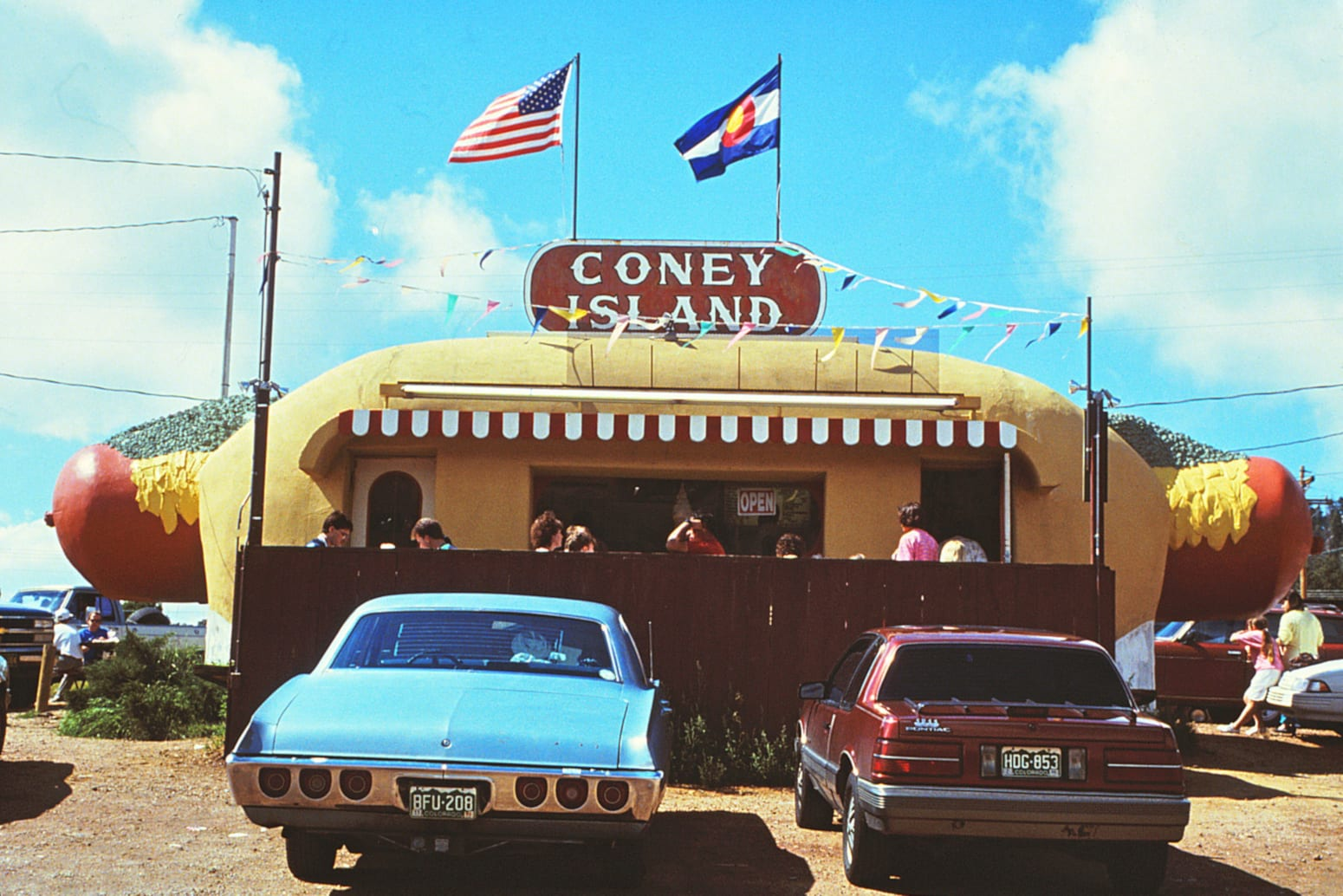 Coney Island Boardwalk Aspen Park Colorado 1991 Location