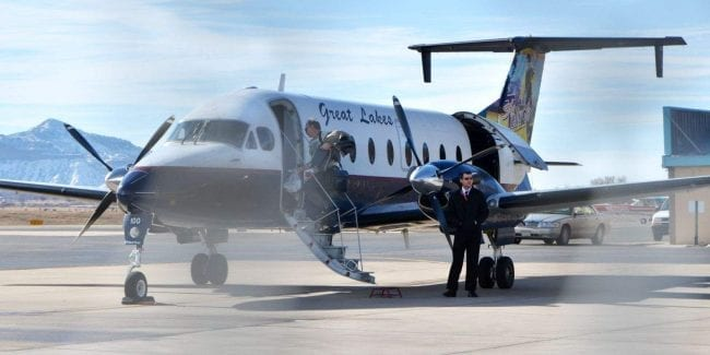 Cortez Municipal Airport Great Lakes Charter Plane