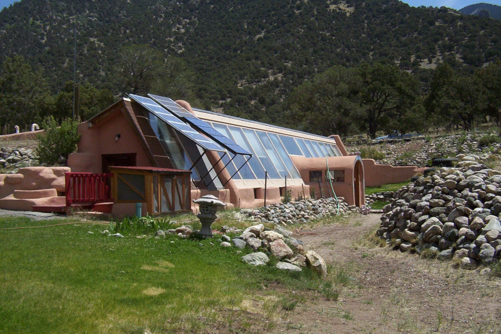 Crestone Colorado Passive Solar Earthhouse