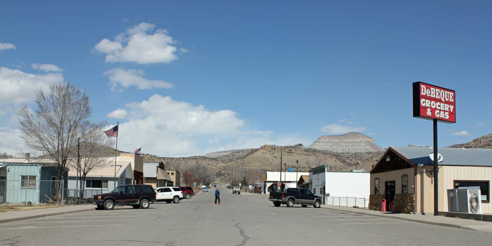 De Beque Colorado Minter Avenue