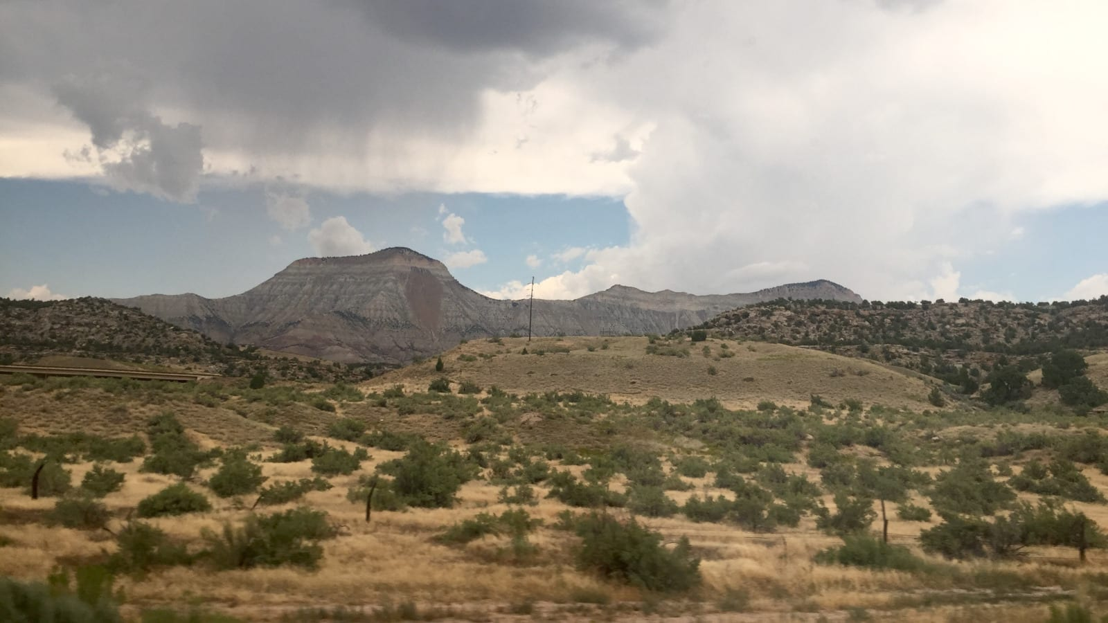 De Beque Colorado Roan Plateau Countryside