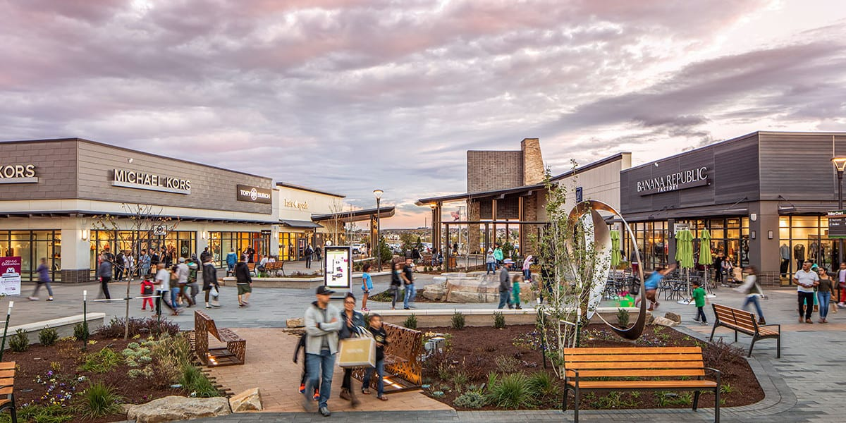 Colorado Outlet Malls Denver Premier Outlets