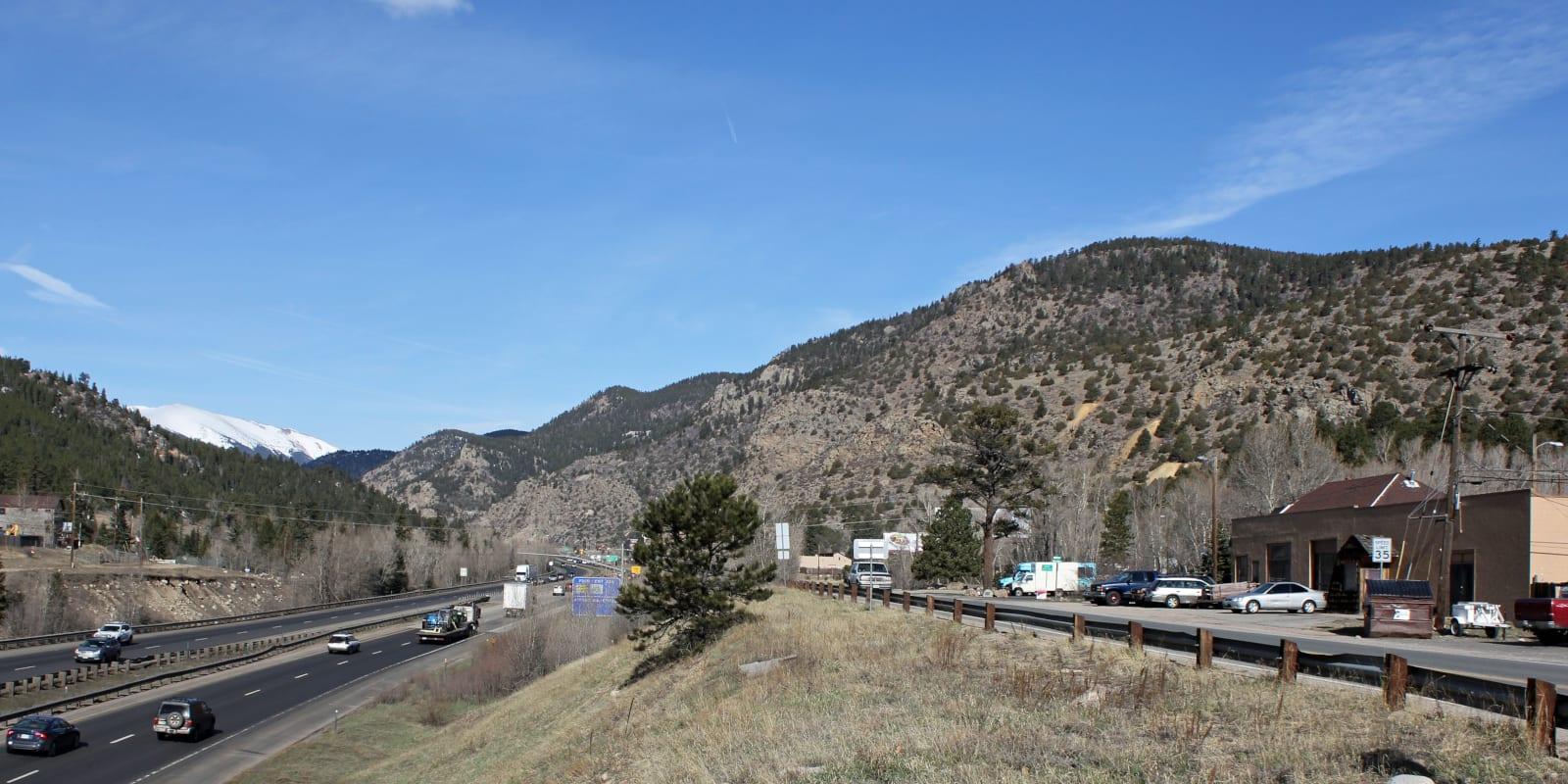 Dumont Colorado Highway Interstate 70