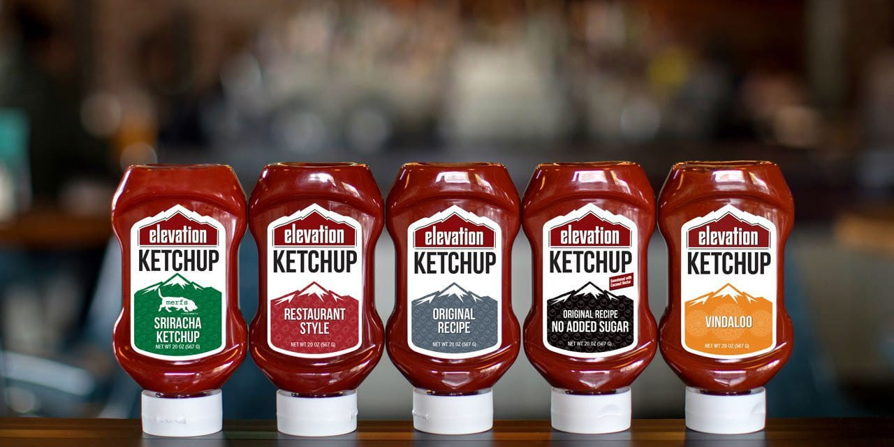 Elevation Organic Ketchup Flavor Lineup Denver Colorado