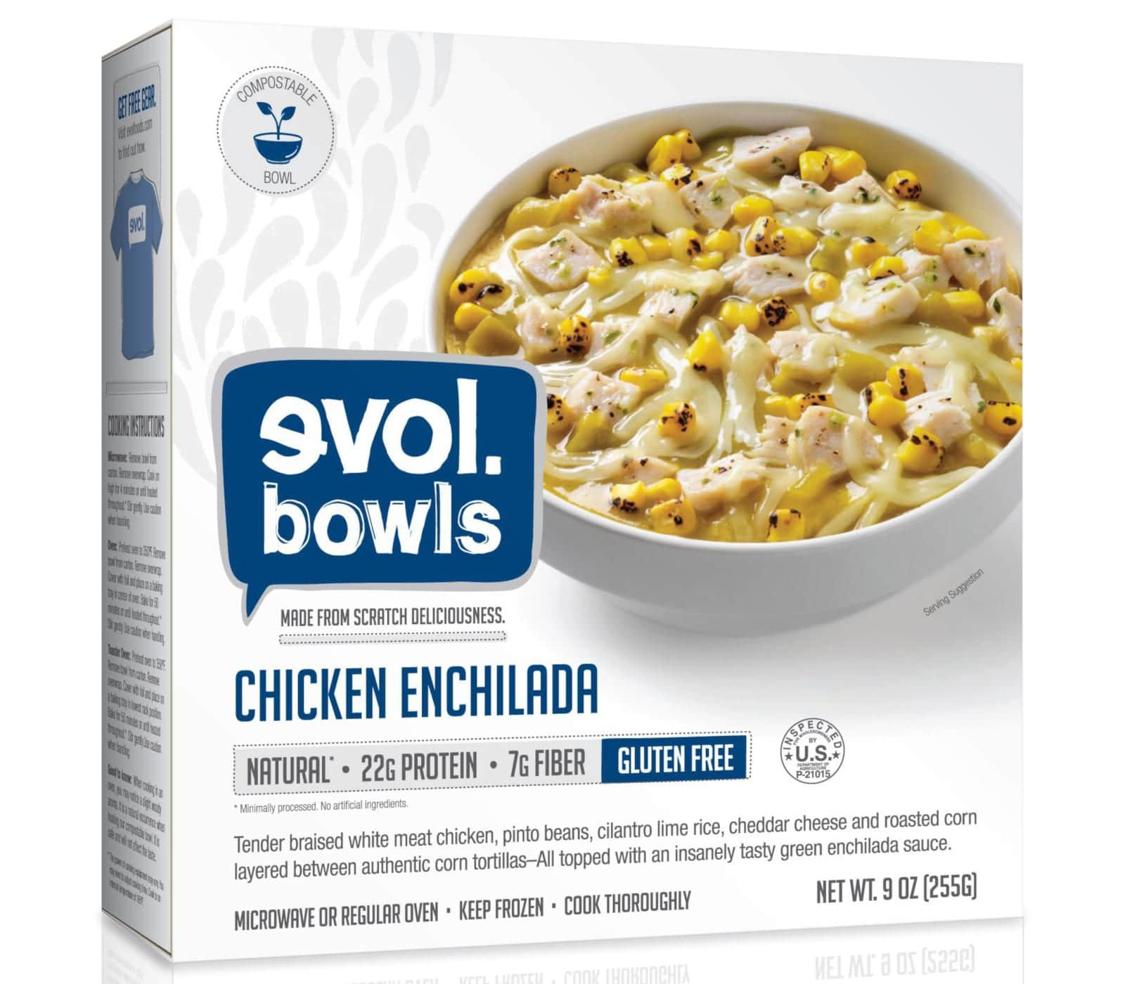 Evol Foods Chicken Enchilada