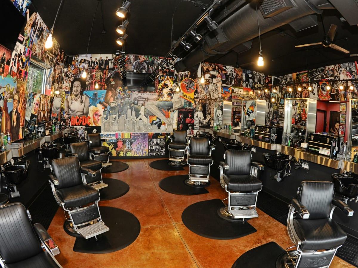 Floyd's 99 Barbershop Interior