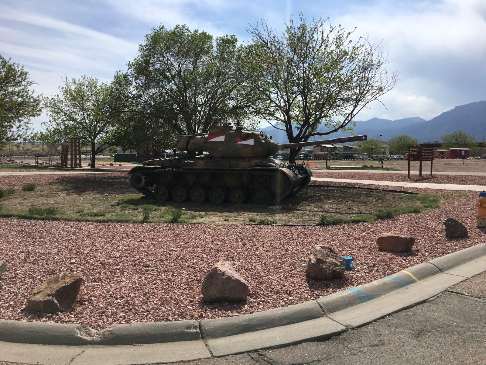 Fort Carson Colorado Tank