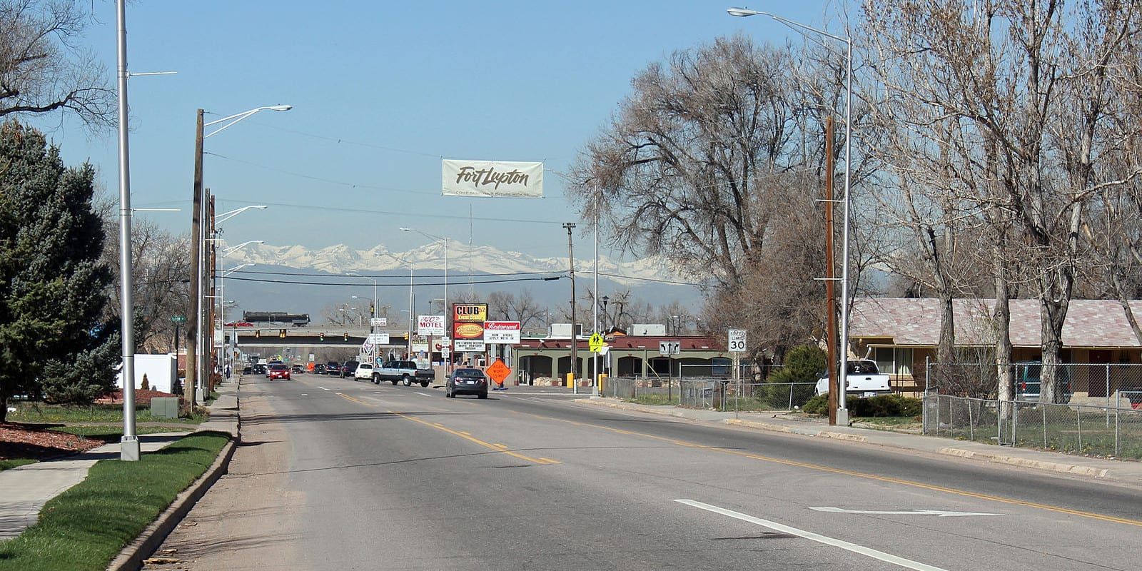 Fort Lupton Colorado 1st Street