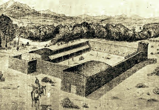 Fort Lupton Colorado Sketch 1913