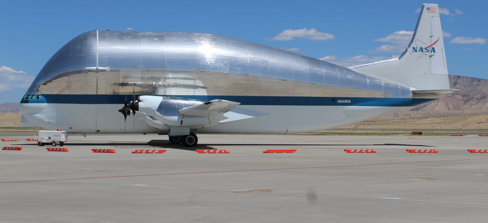 Grand Junction Regional Airport Nasa Plane Super Guppy Mission