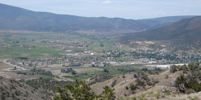 Gypsum Colorado Aerial View