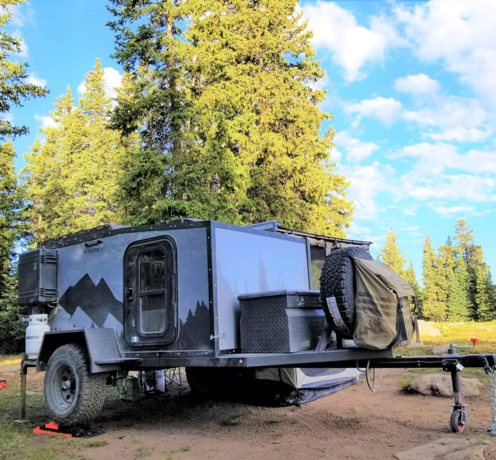 Into The Wild Overland Boreas XT Off Road Travel Trailer