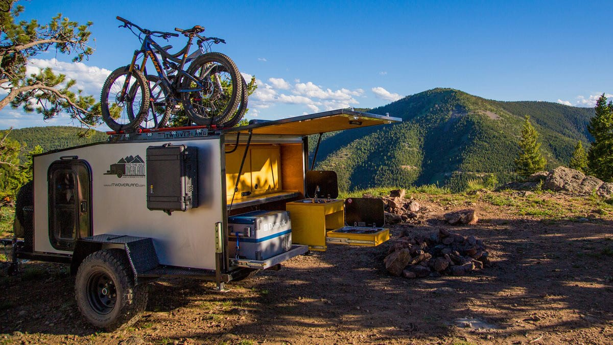 Into The Wild Overland Boreas XT Campsite Kitchen