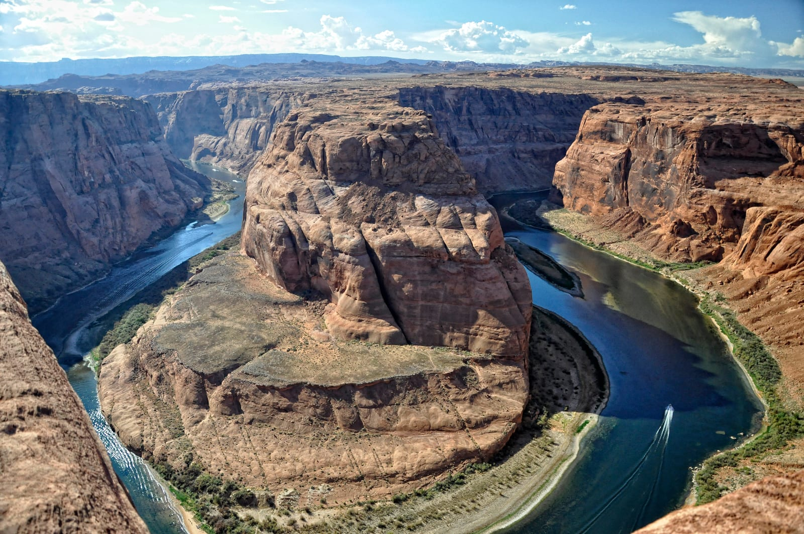 Colorado River Horseshoe Bend Page Arizona