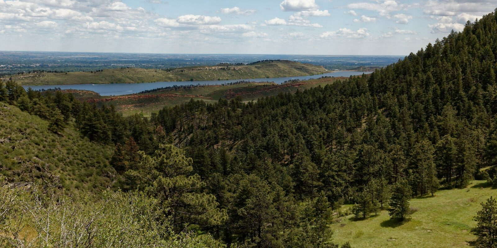 Lory State Park Overlooking Horsetooth Reservoir Bellvue CO