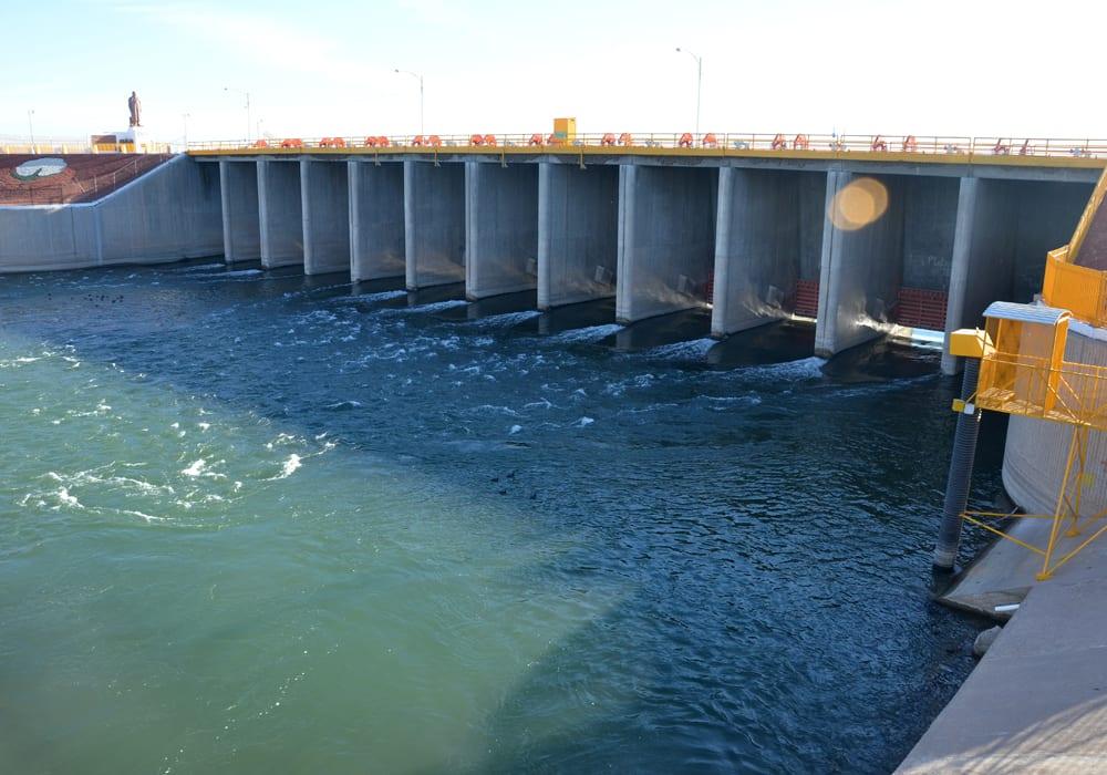 Lower Colorado River Morelos Dam Irrigation Canals Mexico